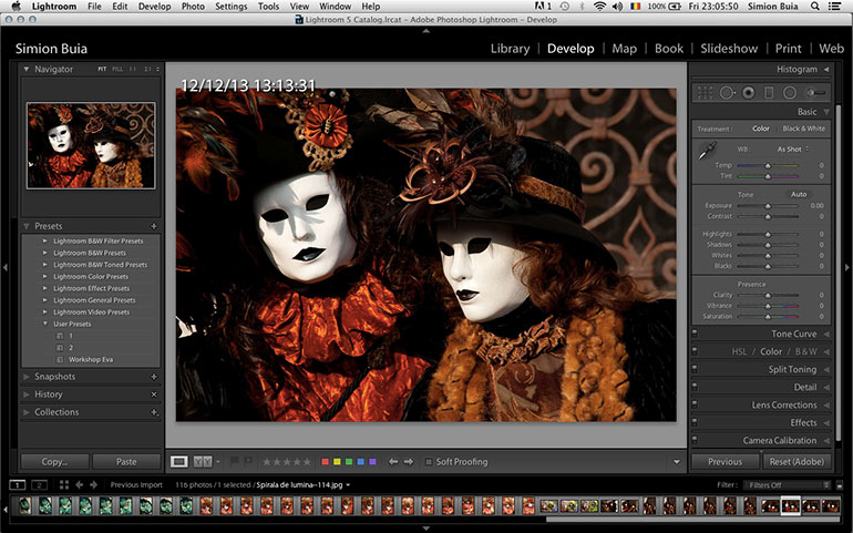 Editare Adobe Lightroom