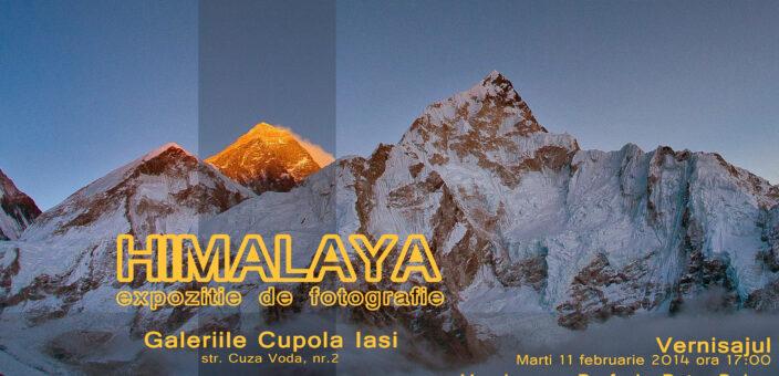 """Expoziţie de fotografie la Iasi: """"Himalaya"""" – semnata Ionel Onofraş"""