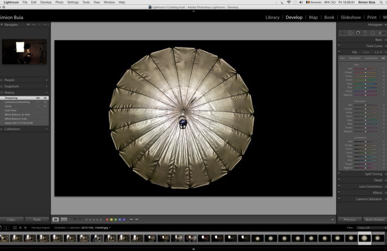 Introducere în Adobe Lightroom