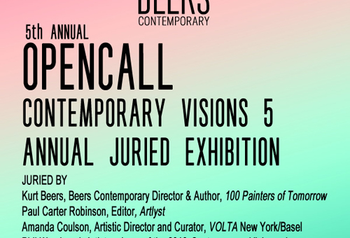 BEERS Contemporary Open Call to Artists