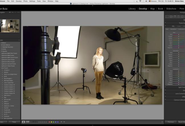 Workshop Portret Academia de fotografie