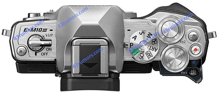 First images of the new Olympus E-M10III